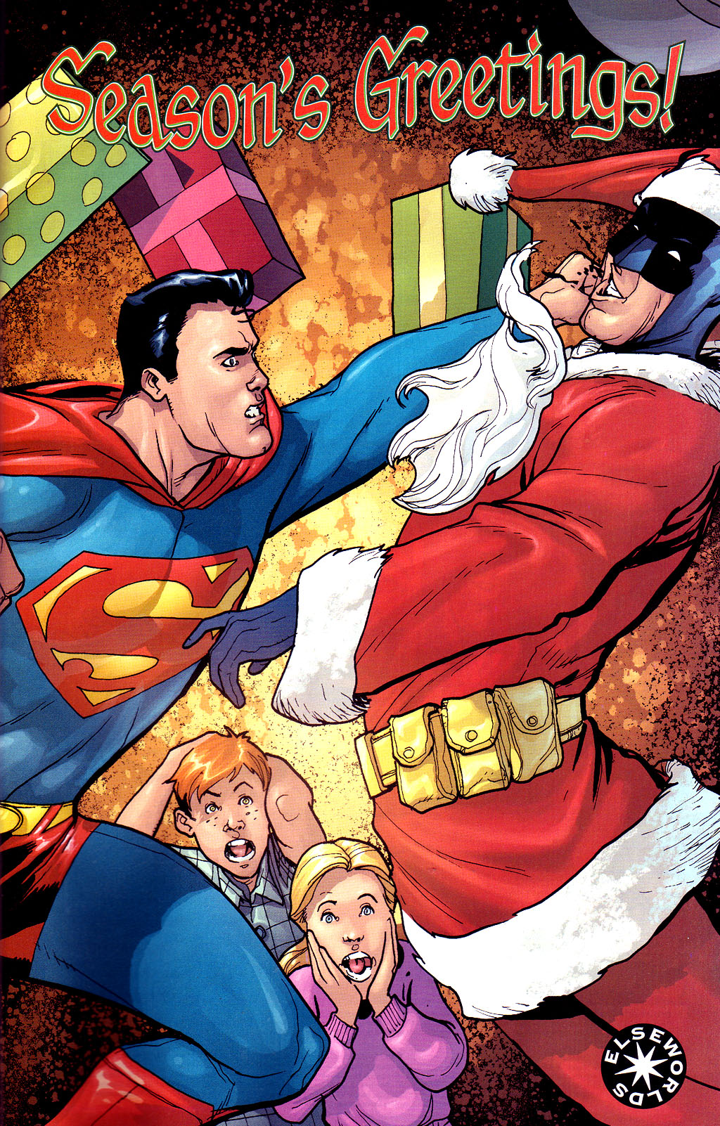 Christmas with the Super-Heroes | The Sense of Right Alliance