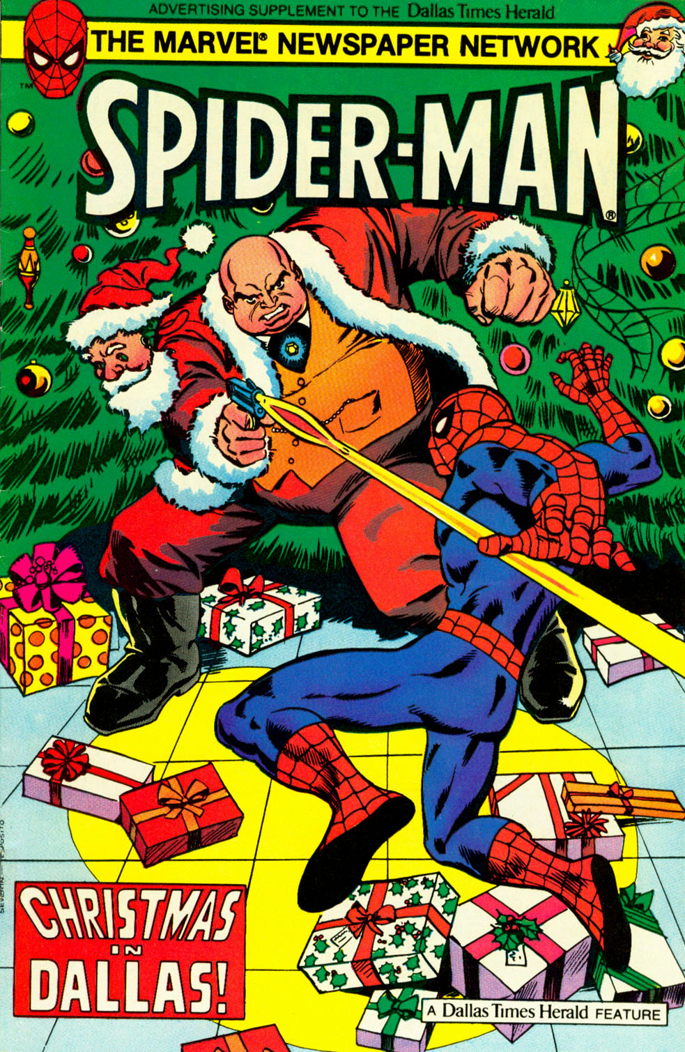 Spider-Man: Christmas in Dallas | The Sense of Right Alliance