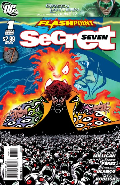 Copertina di Flashpoint: Secret seven. 1