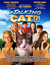 a talking cat