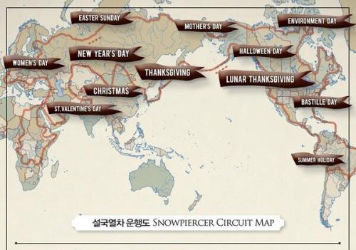 snowpiercer map