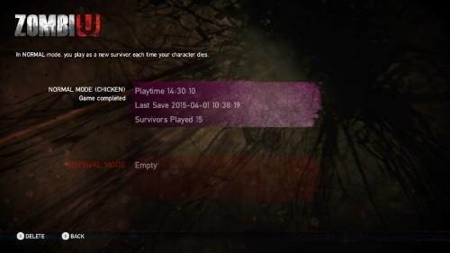 ZombiU final stats