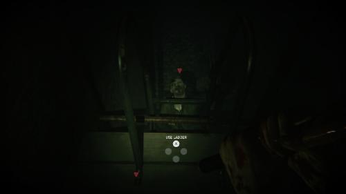 ZombiU zombie on ladder