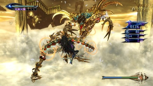 Bayonetta boss battle