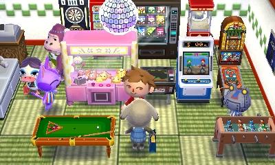 Animal Crossing arcade