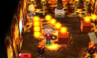 Animal Crossing fire home