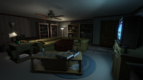 Gone Home room