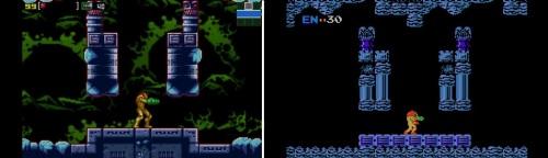 Metroid Zero comparison
