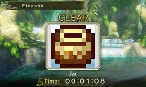 My Nintendo Picross jar