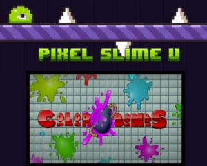 Pixel Slime Color Bombs