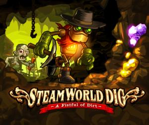 SteamWorld Dig title