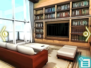 It wouldn't be an adventure game if there wasn't a bookshelf somewhere!