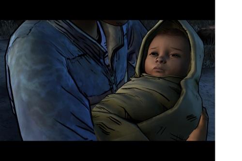 Walking Dead baby