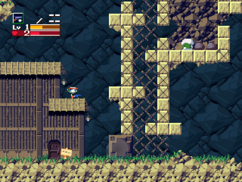 Cave Story village