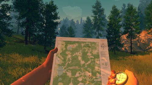 Firewatch map