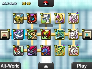 Pokemon Picross map