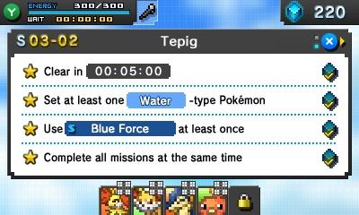 Pokemon Picross missions