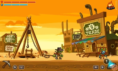 SteamWorld surface