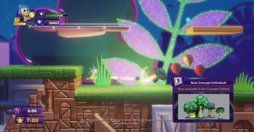 Disney Infinity broccoli